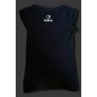 T-Shirt smanicata nera