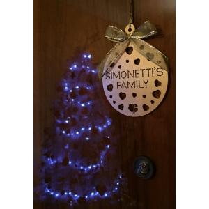 Palle di Natale con nome